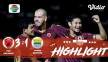 Laga lanjutan Shopee Liga 1, PSM Makassar VS Persib Bandung berakhir dengan skor 3-1 #shopeeliga1 #PSM Makassar #Persib Bandung