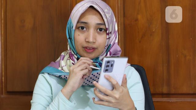 Hands-On Galaxy Note 20 Ultra. (Liputan6.com/ Agustin Setyo Wardani)