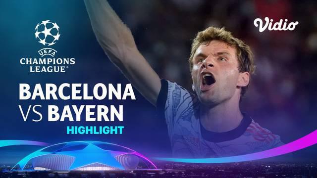 Berita Video, Highlights Pertandingan Barcelona Vs Bayern Munchen pada Rabu (15/7/2021)