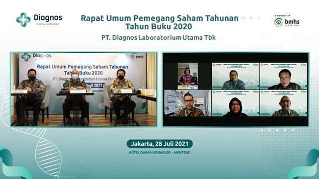 RUPST PT Diagnos Laboratorium Utama Tbk (DGNS) (Dok: PT Diagnos Laboratorium Utama Tbk)