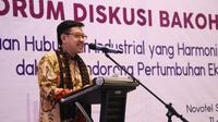 Sekretaris Jenderal Kemnaker Hery Sudarmanto ungkap beberapa manfaat dan keuntungan dari hubungan industrial yang baik dan harmonis.