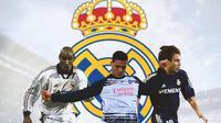 Real Madrid - Nicolas Anelka, Luka Jovic, Antonio Cassano (Bola.com/Adreanus Titus)