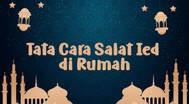 Menteri Agama (Menag) Fachrul Razi menyarankan agar umat Islam melaksanakan salat Idul Fitri 1 Syawal 1441 Hijriah di rumah.