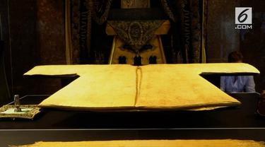 Sebelumnya jubah tersebut pernah diberikan kepada Uwais Al Qarani sebagai hadiah.