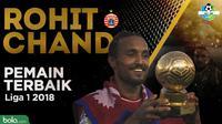 Pemain terbaik Liga 1 2018. (Bola.com/Dody Iryawan/Adreanus Titus)