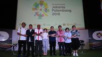Konferensi pers Asian Games 2018 di SCTV Tower, Jakarta, Kamis (8/2/2018). (Liputan6.com/Helmi Fithriansyah)