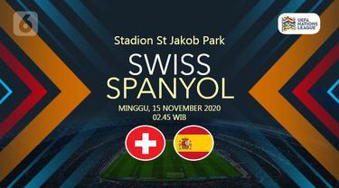 PREDIKSI Swiss vs Spanyol