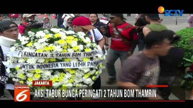 Ledakan bom Thamrin yang terjadi pada 14 Januari 2016 mengakibatkan empat orang meninggal dunia, termasuk dua pelaku penyerangan.