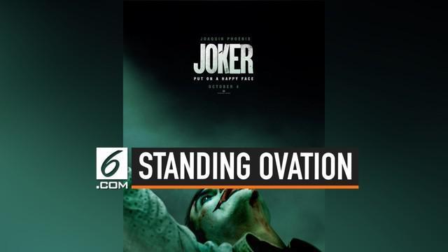 Film Joker tayang secara perdana di Venice Film Festifal 2019. Film besutan Todd Phillipis ini ini menuai respon positif dari para penonton.