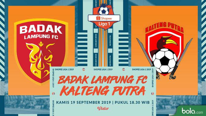Live Streaming Shopee Liga 1 2019 Badak Lampung Vs Kalteng Putra di Vidio