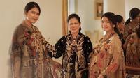 Pemotretan Iriana Jokowi, Kahiyan dan Selvi (Sumber: Instagram/dierabachir)