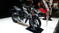 Di Eropa Honda CB125R yang berkapasitas 125 cc lebih populer ketimbang CBR250RR. (Sigit TS/Liputan6.com)