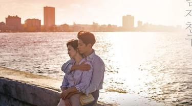 Drama Encounter yang diperankan Song Hye Kyo dengan Park Bo Gum (tvN/Soompi)