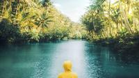 Sungai Maron, Pacitan (Sumber: Instagram/rafirss)