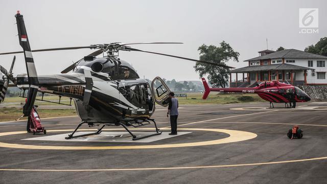 Merasakan Sensasi Mudik dengan Helikopter