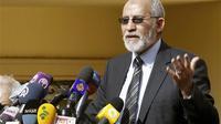 Pemimpin Ikhwanul Muslimin Mohammed Badie. (Amr Abdallah Dalsh/Reuters)