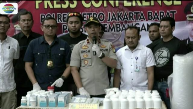 Polisi kejar pemilik gudang penyimpanan narkoba yang diedarkan di sekolah Yayasan Al Kamal.