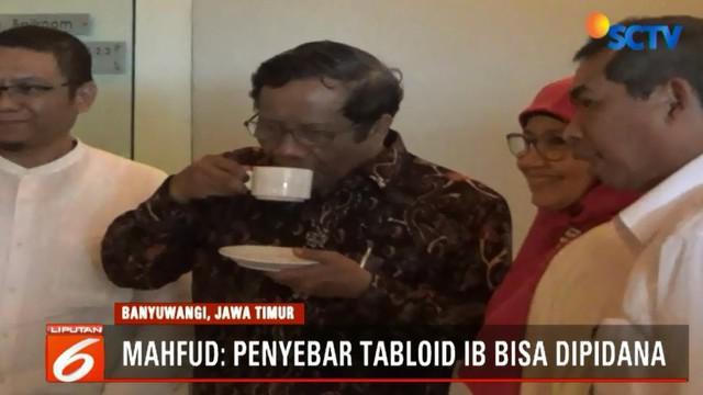 Bawaslu sudah mengimbau kepada masyarakat untuk mencegah peredaran tabloid Indonesia barokah. Bawaslu juga sudah berkoordinasi dengan dewan pers untuk memastikan apakah tabloid tersebut merupakan produk jurnalistik atau bukan.