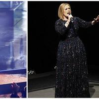 Ed Sheeran dan Adele (AFP/Bintang.com)