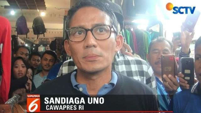 Setelah melihat hasil produksi para pengusaha UKM, Sandi berjanji akan mengembalikan kejayaan UKM PIK seperti masa lalu.