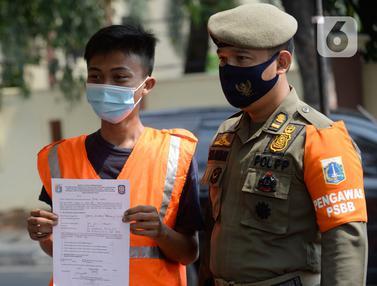 Sanksi Bagi Pelanggar Aturan Penggunaan Masker Saat PSBB