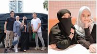 Potret Kebersamaan Dinda Hauw dan Wardah Maulina. (Sumber: Instagram.com/natta_reza/wardahmaulina_)