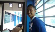 Pemain muda Persib, Agung Mulyadi. (Bola.com/Muhammad Ginanjar)
