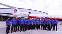 Johor Darul Ta'zim jadi satu-satunya klub di Malaysia yang memiliki pesawat terbang pribadi. (Bola.com/Dok. JDT)