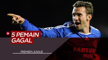 Berita Video 5 Pemain Hebat yang Gagal Bermain di Premier League, Termasuk Andriy Shevchenko