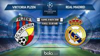 Liga Champions 2018 Viktoria Plzen Vs Real Madrid (Bola.com/Adreanus Titus)