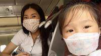 Sarwendah sempat deg-degan saat naik pesawat lagi saat hendak liburan singkat di Bali (Dok. Instagram/@sarwendah29/https://www.instagram.com/p/CDkyDNUlEwv/Komarudin)