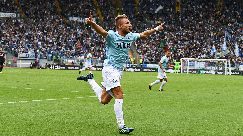 Ciro Immobile (Lazio) - 14 Gol (5 Penalti). (AFP/Vincenzo Pinto)