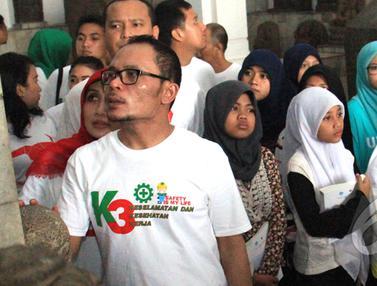 Menteri Hanif Kunjungi Museum Bareng Anak Yatim