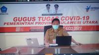 Jubir Gugus Tugas Covid-19 Sulut dr Steaven Dandel.