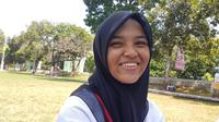 Cut Aura Magfirah Putri yang merupakan siswi SMA Negeri 1 Jeumpa Puteh Banda Aceh mulai mempersiapkan fisiknya untuk menjadi Paskibraka sejak SMP.