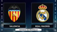 La Liga - Valencia Vs Real Madrid (Bola.com/Adreansu Titus)