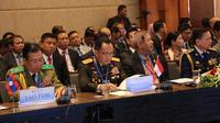 Kapolri Jenderal Tito Karnavian memimpin delegasi Polri dalam Konferensi ASEANAPOL Tahun 2019 di Hanoi, Vietnam. (Merdeka.com)