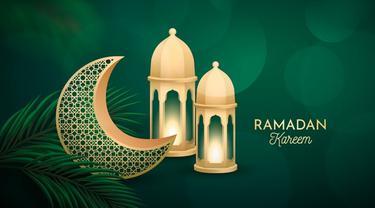 Ilustrasi ucapan, ramadan