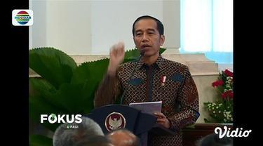 Jokowi meminta agar BMKG lebih antisipatif dalam mendeteksi potensi bencana alam, karena Indonesia berada di zona rawan bencana atau cincin api.