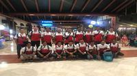 Tim nasional polo air bertolak ke Serbia untuk mematangkan persiapan jelang SEA Games 2017, Rabu (5/7/2017). (PRSI).