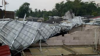 Puluhan Rumah di Kota Bogor Rusak Diterjang Puting Beliung
