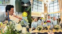 Momen Perayaan Ulang Tahun Christian Sugiono yang Ke-40. (Sumber: Instagram/csugiono dan Instagram/titi_kamall)