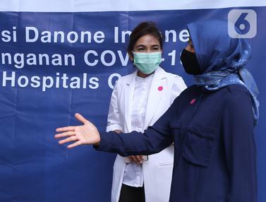 Atasi Penyebaran Covid-19, Rumah Sakit Rujukan Terima Tiga Unit Ventilator