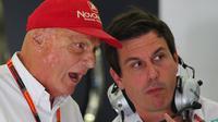 Niki Lauda (MARWAN NAAMANI / AFP)