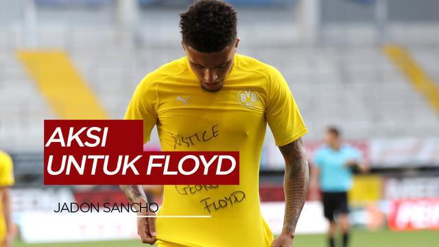 Berita Video Jadon Sancho Ikut Suarakan Keadilan Untuk George Floyd Saat Borussia Dortmund Bantai Paderborn 6-1