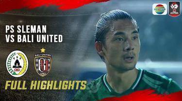 Berita video highlights laga perempat final Piala Menpora 2021 antara PSS melawan Bali United yang berakhir dengan drama adu penalti, Senin (12/4/2021) malam hari WIB.