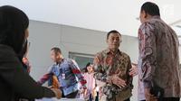 Wakil Kabareskrim (Wakabareskrim) Irjen Antam Novambar saat tiba untuk mengikuti tes psikologi di Pusdiklat Kemensetneg, Jakarta, Minggu (28/7/2019). Dalam tes psikologi ini diikuti oleh 104 peserta setelah melalui proses seleksi pada tes administrasi. (Liputan6.com/Herman Zakharia)