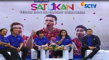 "Menjelang perhelatan Asian Games 2018, Indofood mengkampanyekan gerakan ""Satukan Tekad dan Semangat Indonesia""."