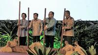 Kementerian PPN/Bappenas selaku koordinator pelaksanaan program pencapaian Sustainable Development Goals (SDGs) menyelenggarakan 'SDGs Annual Conference 2018', di Hotel Fairmont, Jakarta.