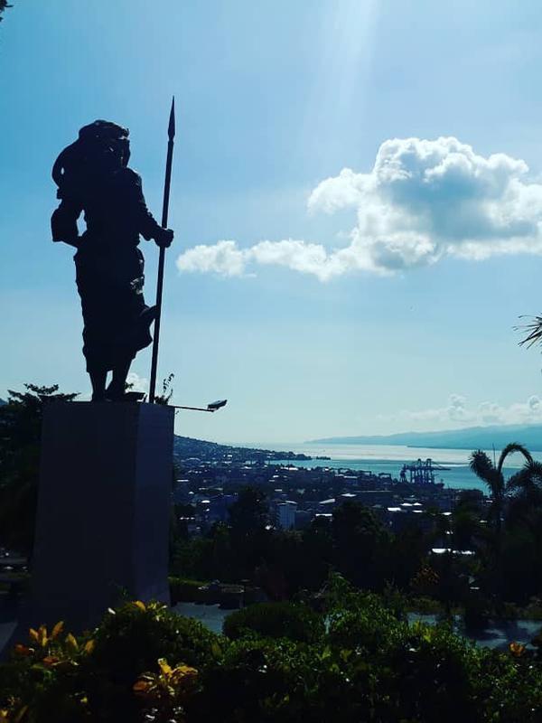 Monumen Martha Christina Tiahahu, Maluku. (dok. Instagram @ekylumbantoruan/https://www.instagram.com/p/BptUDpTHP_f/?utm_source=ig_web_copy_link/Asnida Riani)